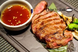 Fat Cow Restaurant and their top grade Wagyu Beef Steak
